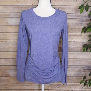 GAP Fit Maternity Long Sleeve Athletic Top Sm